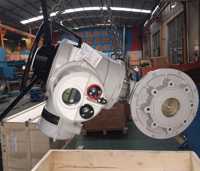 China Rotork Inteligent Multi-turn Electric Actuator,Multi