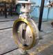ANSI butterfly valve ASME B16.5 150lb flange connection dimensions